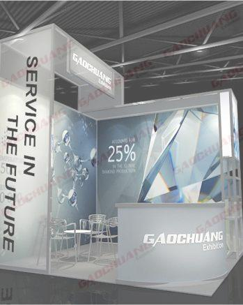 Modular Octanorm Exhibition Display Booth Stand GC-3X3