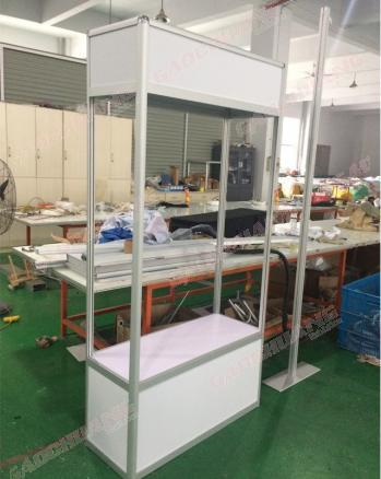 Aluminium Exhibition Glass Showcase Counter