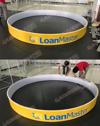 Hanging Banner Exhibition with Full Color Printed Sign