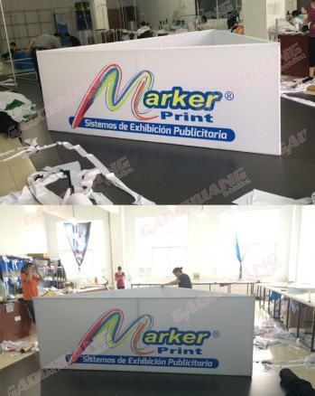 Hanging Banner Exhibition with Full Color Printed Sign-Triangle