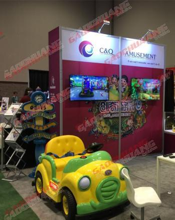 Customized Modular Extrusion Exhibition Display Booth